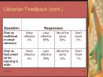 librarian feedback cont38