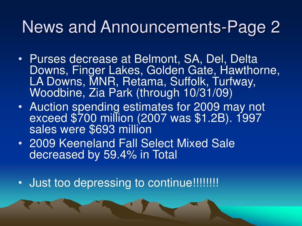 News and Announcements-Page 2
