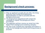 background check process