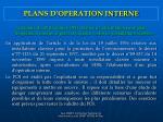 plans d operation interne
