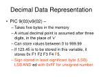 decimal data representation1
