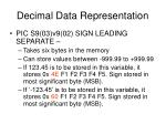 decimal data representation4