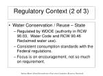 regulatory context 2 of 3