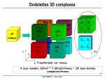 ondelettes 3d complexes