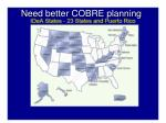 need better cobre planning