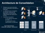 architecture de consolidation