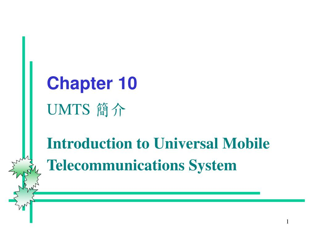 chapter 10 umts l.