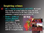 inspiring crimes