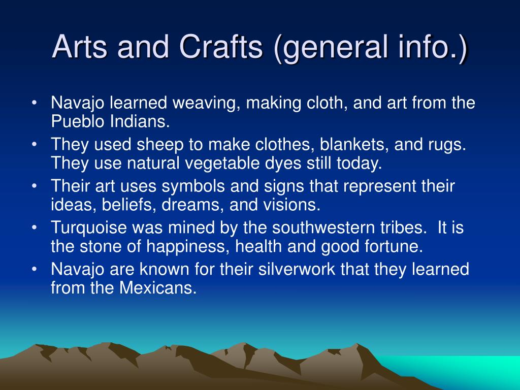 Arts and Crafts (general info.)