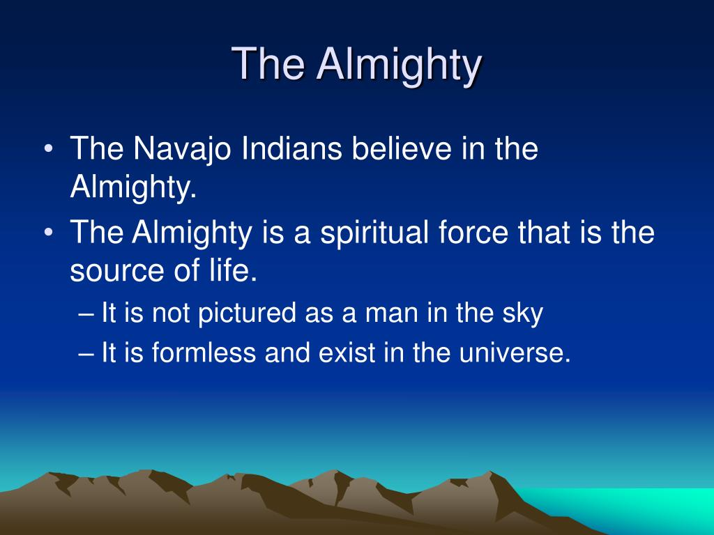 The Almighty