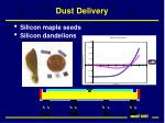 dust delivery