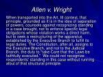 allen v wright27