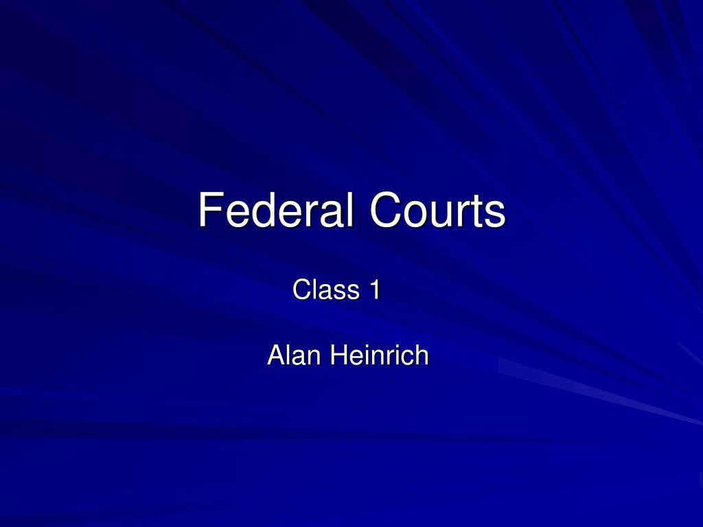 federal courts l.