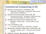 commercial composting in nc