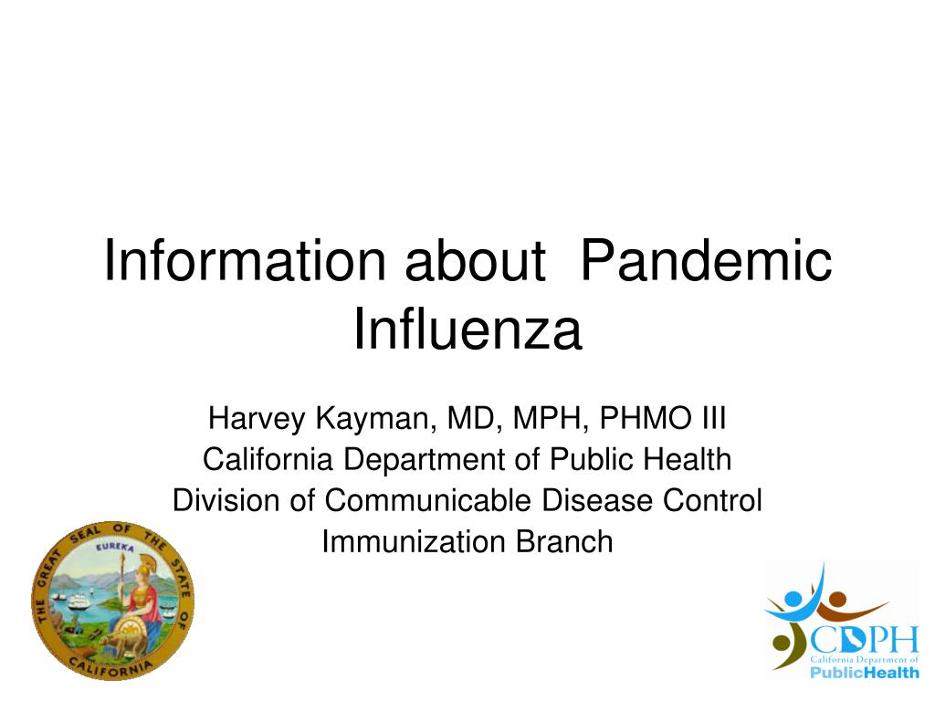 information about pandemic influenza l.
