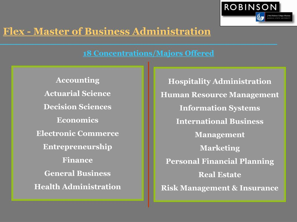Flex - Master of Business Administration