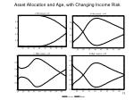 asset allocation and age with changing income risk