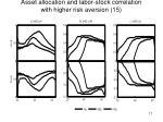asset allocation and labor stock correlation with higher risk aversion 15