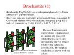 brochantite 1