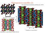 polytypism in xonotlite 2