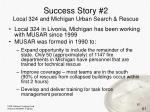 success story 2 local 324 and michigan urban search rescue