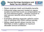 heroes earnings assistance and relief tax act heart act