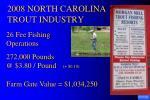 2008 north carolina trout industry7