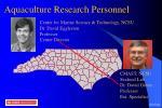 aquaculture research personnel38