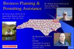 business planning permitting assistance