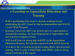 e learning in aquaculture education and training12