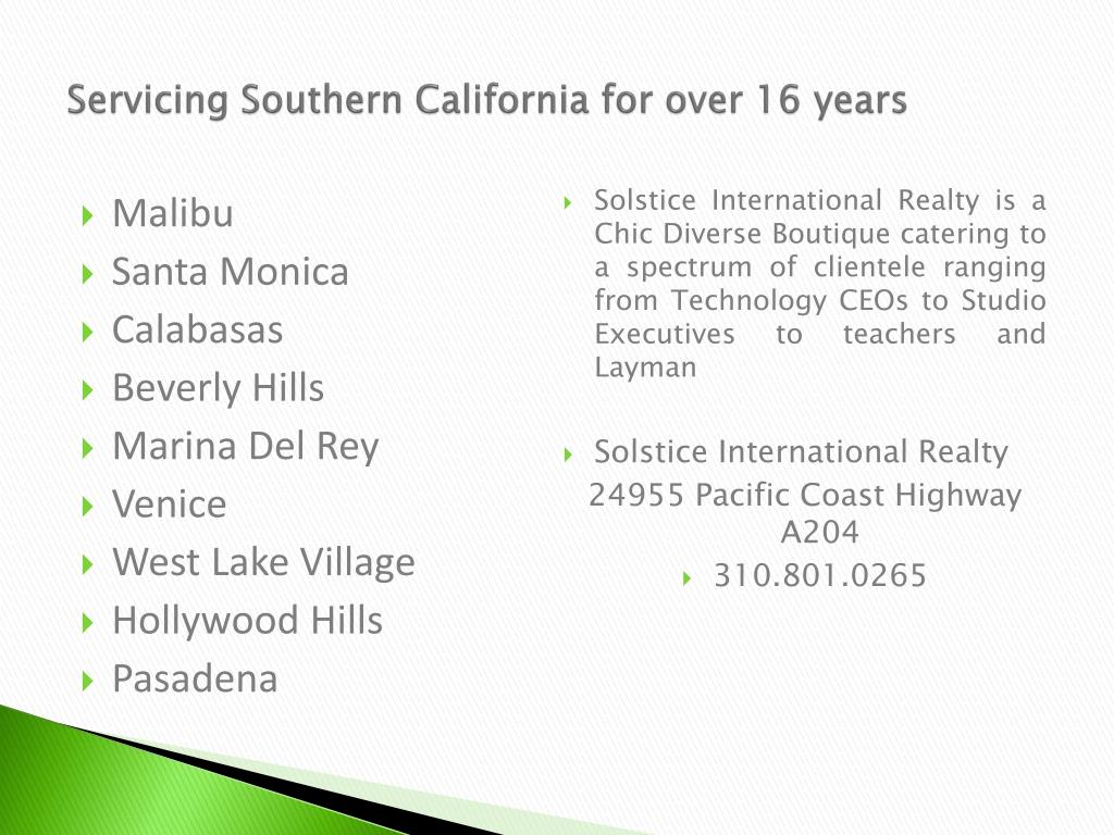 Servicing Southern California for over 16 years