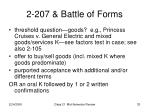 2 207 battle of forms