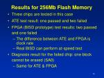 results for 256mb flash memory