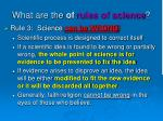 what are the of rules of science6