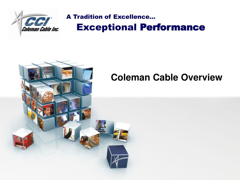coleman cable overview l.