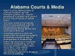 alabama courts media
