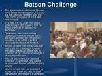 batson challenge