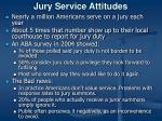 jury service attitudes