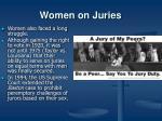 women on juries