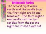 arithmetic series36