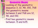 geometric means69