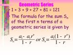 geometric series75