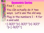 geometric series76