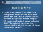 base map series