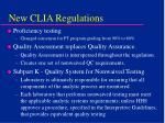 new clia regulations68