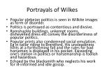 portrayals of wilkes