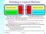 building a logical machine