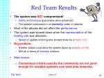 red team results