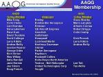 aaqg membership