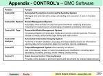 appendix control s bmc software
